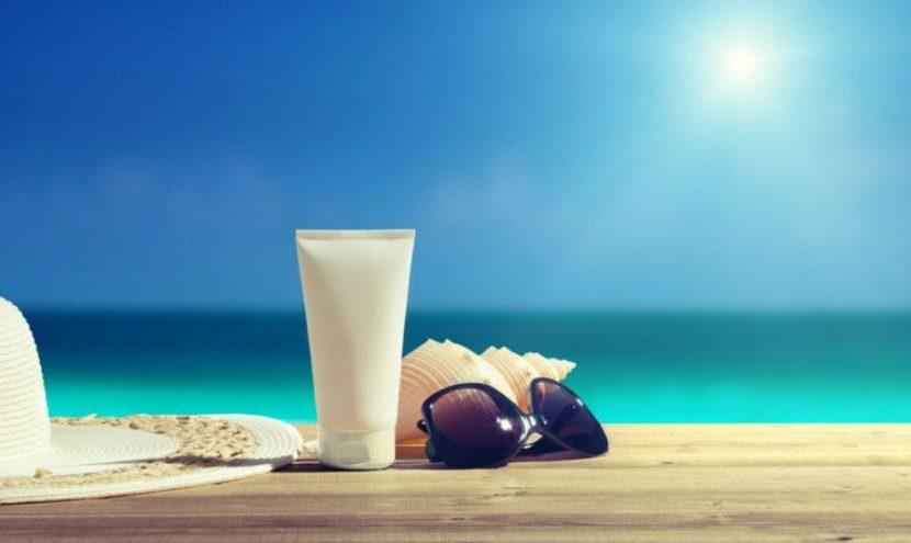 Votre kit de cosmétiques de plage